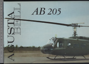 192 Brochure Hélicoptère Aircraft Helicopter Agusta Bell Ab 205
