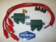 Kawasaki Gpz1100 81-86 Dyna Performance Ignition Coils And Red Taylor Leads.