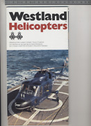 192 Brochure Hélicoptère Aircraft Helicopter Westland