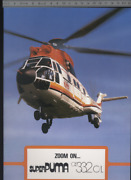 192 Brochure Hélicoptère Aircraft Helicopter Aerospatiale Super As332c/l