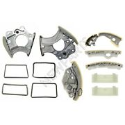 For Audi Q5 3.2l V6 2009 Engine Timing Tensioners And Chains And Guides Kit
