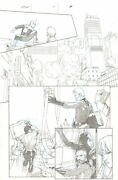Secret Wars 1 P.8 - Spider-man Black Panther And F4 - 2015 Art By Esad Ribic