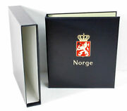 Davo Deluxe Stamp Album Norge Vol. I Norway Standard Binder W/o Pages