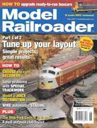 Model Railroader May 2007 Walthers Staging Yards Cando Loup Creek Nyc Branch Dcc