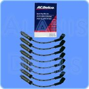 Gm-oem Spark Plug Wire Set W/heat Shield 8 For Round Coils Stamped 19005218