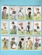 Cigarette Cards. Ogdens Tobacco.turf Personalities Racing. 1929.set Of 50.
