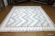 Fine Quality Dhurrie 8and039 X 10and039 Handmade Carpet. Hand Woven Light Blue Beige Pm75