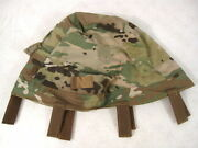 Us Army Ocp Scorpion Camouflage Ach Or Mich Helmet Cover - Large/x-large