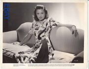 Barbara Stanwyck Tough And Sexy 1941 Vintage Photo