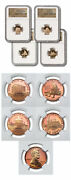 2009-s Usa Lincoln Cents Bicentennial Reverse Set Of 4 1andcent Coins Ngc Pf69ucam