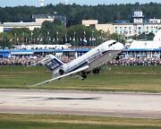 Tu-334 Airliner Taking Off 11x14 Silver Halide Photo Print
