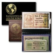 Marks Of Catastrophe- German Hyperinflation Banknote Collection