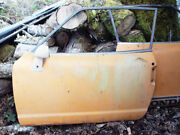 1970-1972 Honda 600 Coupe Left Driver's Door W/ Glass - Straight And Rust Free