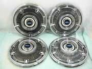 1965 Chevrolet Hubcaps Wheel Covers 14 Set Of 4