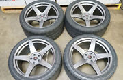 20 Project 6gr5 Graphite Wheels And Nitto Nt555 G2 Tires Ford Mustang S550 S197