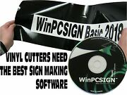 Winpcsign Basic 2018 Stand Alone Cutting Software 600 Cutters Drivers