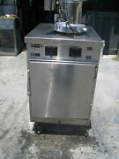 Winston Food Oven/warmer With Vapor115vmodel 8714s/steel Unit 900 More Items