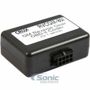 Crux Rvcgm-80i Rear-view Interface For Select 2014-up Chevrolet And Gm