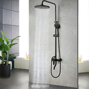 Us 8 Bathroom Rain Shower Faucet Valve Mixer Hand Sprayer Wall Mount Tap Set