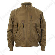 Us Tactical Flight Jacket - Coyote - Menand039s Coat American Military All Sizes New