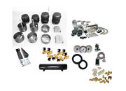 1992-1997 Lincoln Town Car Complete Air Ride Suspension Kit Fbss 1/2 Valvesbag