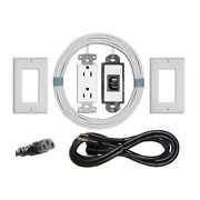 Midlite Pjw-7r In Wall Hdtv Pre-wired Power Jumper