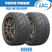 2 X 265/35/18 97y Xl Toyo R888r Trackday / Race E Marked Tyres - 2653518