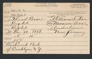 1928 William Buck Lai Early Chinese American Professional Baseball Autograph