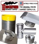 Smooth Wall Chimney Liner Kit 2 Ply .013 316 Liner Various Sizes Available