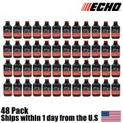 48 Genuine Oem Echo Red Armor 2 Cycle Oil 2 Gallon Mix 501 6550002 5.2oz