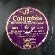 78rpm Henry Hall Take Me Back To My Boots And Saddle / Jack In The Box
