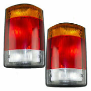 Travel Supreme Select 2002-2003 Taillights Tail Lights Rear Lamps W/gasket Pair
