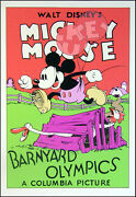 Walt Disney Mickey Mouse Serigraph Fine Art Print. Submit Your Best Offer
