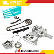 Osk Japan Timing Chain Kit Cover Oil Pump Fit 83-84 Toyota 2.4 Sohc 22r 22re