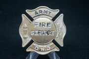 Canadian Forces Army Fire Service Dnd Badge