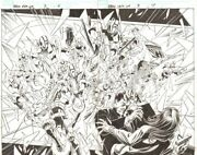 Bbdo Cd Ultimate Spider-man/iron Man 3 6and7 - Hydra Dps '09 Art By Mark Bagley