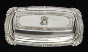 Vintage And Lovely Oneida Silver Plate Butter Dish