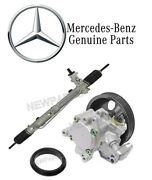 For Mercedes Benz W163 Ml-class Steering Rack And Power Pump W/ Seal Kit Genuine