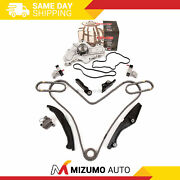 Timing Chain Kit Water Pump Fit 11-12 Lincoln Mks Ford Flex 3.5l Dohc 24v