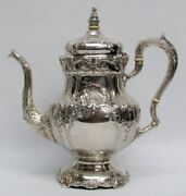 Magnificent Sterling Silver 1935 Richelieu International 9 Cup Coffee Pot Wc530