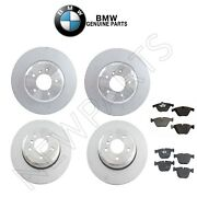 For Bmw E63 E64 645ci 650i Front And Rear Disc Brake Rotors And Pads Genuine Kit
