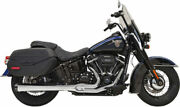 Bassani Chrome Road Rage 2 Into 1 Exhaust Header Pipes System Harley Softail Fl