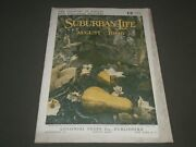 1906 August Suburban Life The Countryside Magazine - Great Cover And Ads - Sp 9515