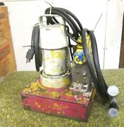 Enerpac Hydraulic Pump For Pipe Bender White 110/120v ... Whs-3-002