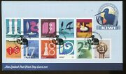 2011 New Zealand Stamp Yearset Counting In Kiwi First Day Covers And Poster