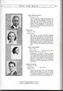 1938 Crosby High School Yearbook The Blue And White Waterbury Connecticut