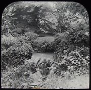 Glass Magic Lantern Slide Where King Harold Died Battle Abbey C1900 Photo