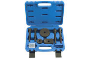 Air Chisel Adaptor Tool Set Large Hammer Concave Flat Track Rod Hammer O Rings