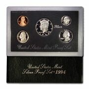 United States Mint Issued Silver Proof Set 1994 Original Packaging