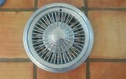 1973-74, 78 Olds Cutlass/ 1972 F-85 And Omega   14 Oem Wire Hubcap 1 Single